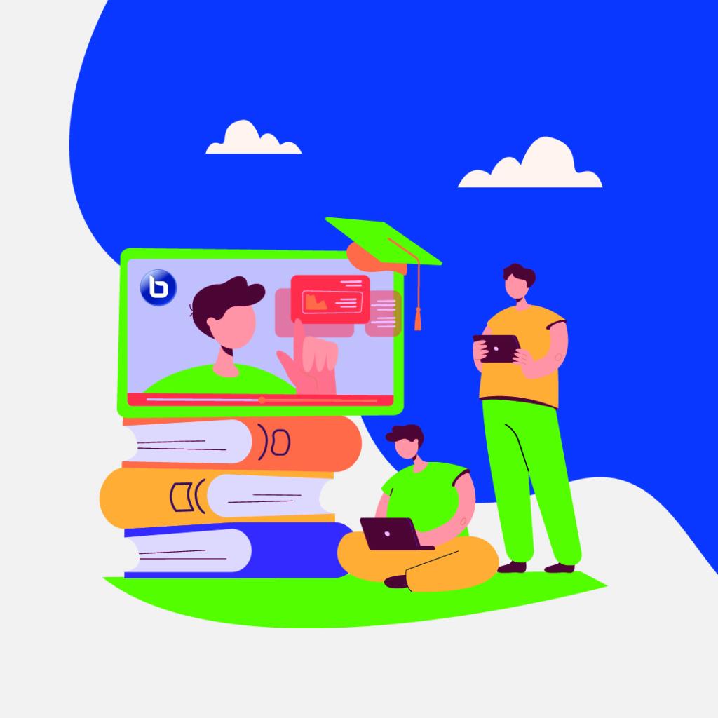 ارائهی بستر آموزش آنلاین، بیگبلوباتن