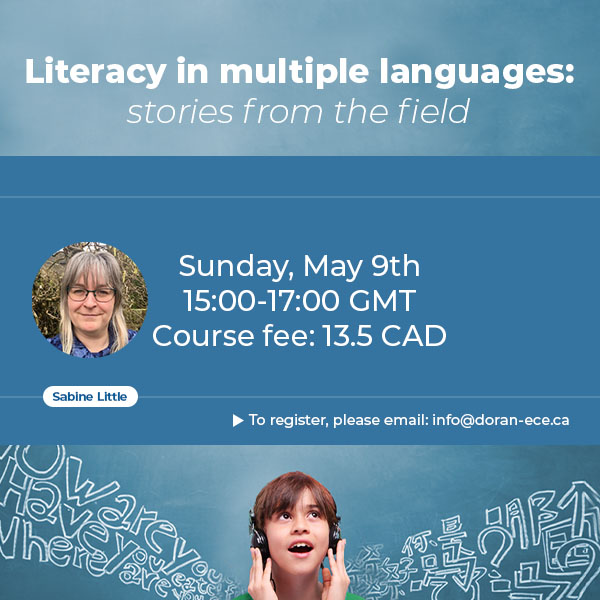 دورهی آنلاین هویت و زبان اول- سواد به چندین زبان: داستانهایی از واقعیت